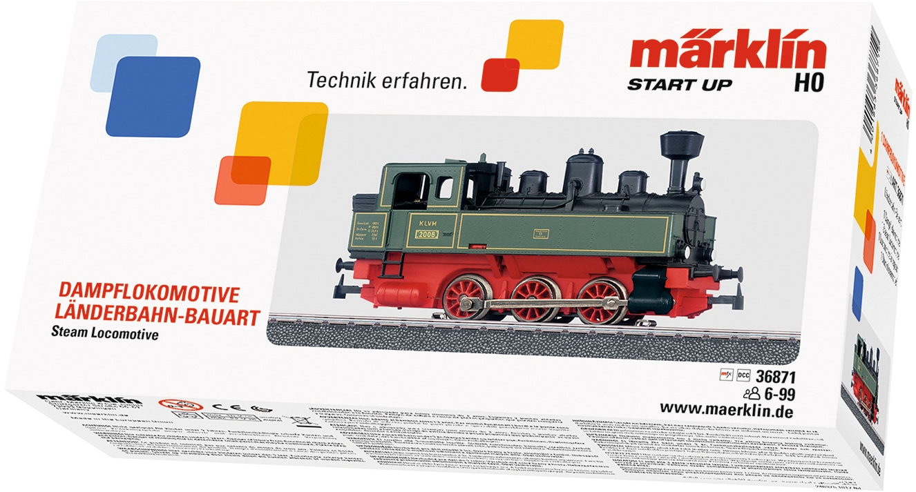 Märklin Tenderlokomotive Start up - 36871, Made in Europe grün Kinder Loks Wägen Modelleisenbahnen Autos, Eisenbahn Modellbau