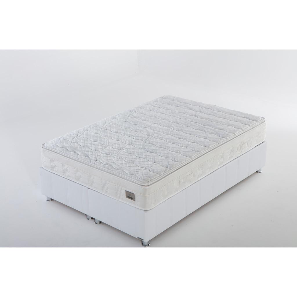 İSTİKBAL Bonnellfederkernmatratze »New Relax Sleep«, 27 cm cm hoch, 418 Federn, (1 St.), abnehmbarer Komfortschaumtopper mit hochwertigem Viskose-Bezug