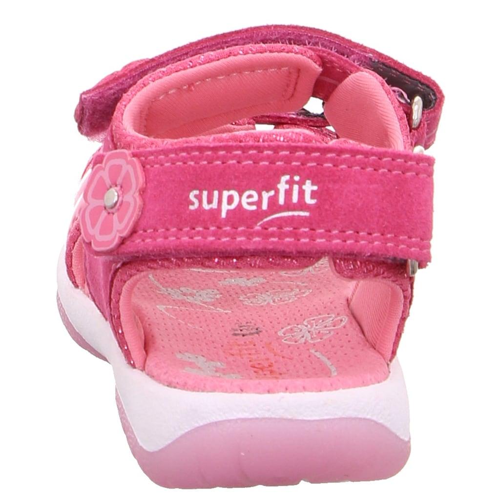 Superfit Sandale »Sunny WMS Weiten-Messsystem: mittel«, mit 3-fach Klettverschluss