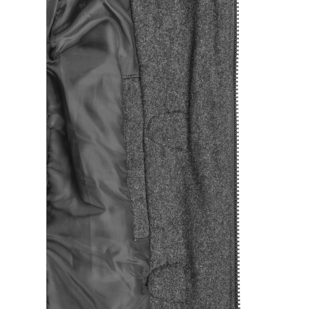 DESIRES Dufflecoat »Penna«, Mantel mit Stehkragen