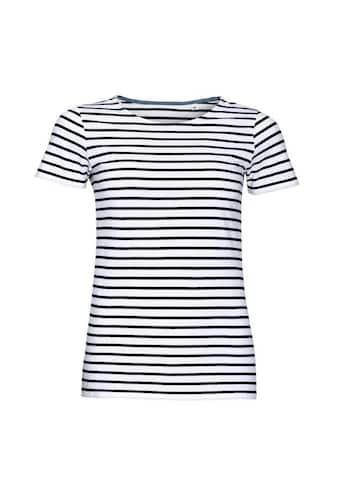 SOLS T-Shirt »Damen Miles, gestreift, kurzärmlig« kaufen