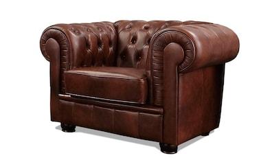 Max Winzer® Chesterfield-Sessel »Kent«, mit edler Knopfheftung kaufen