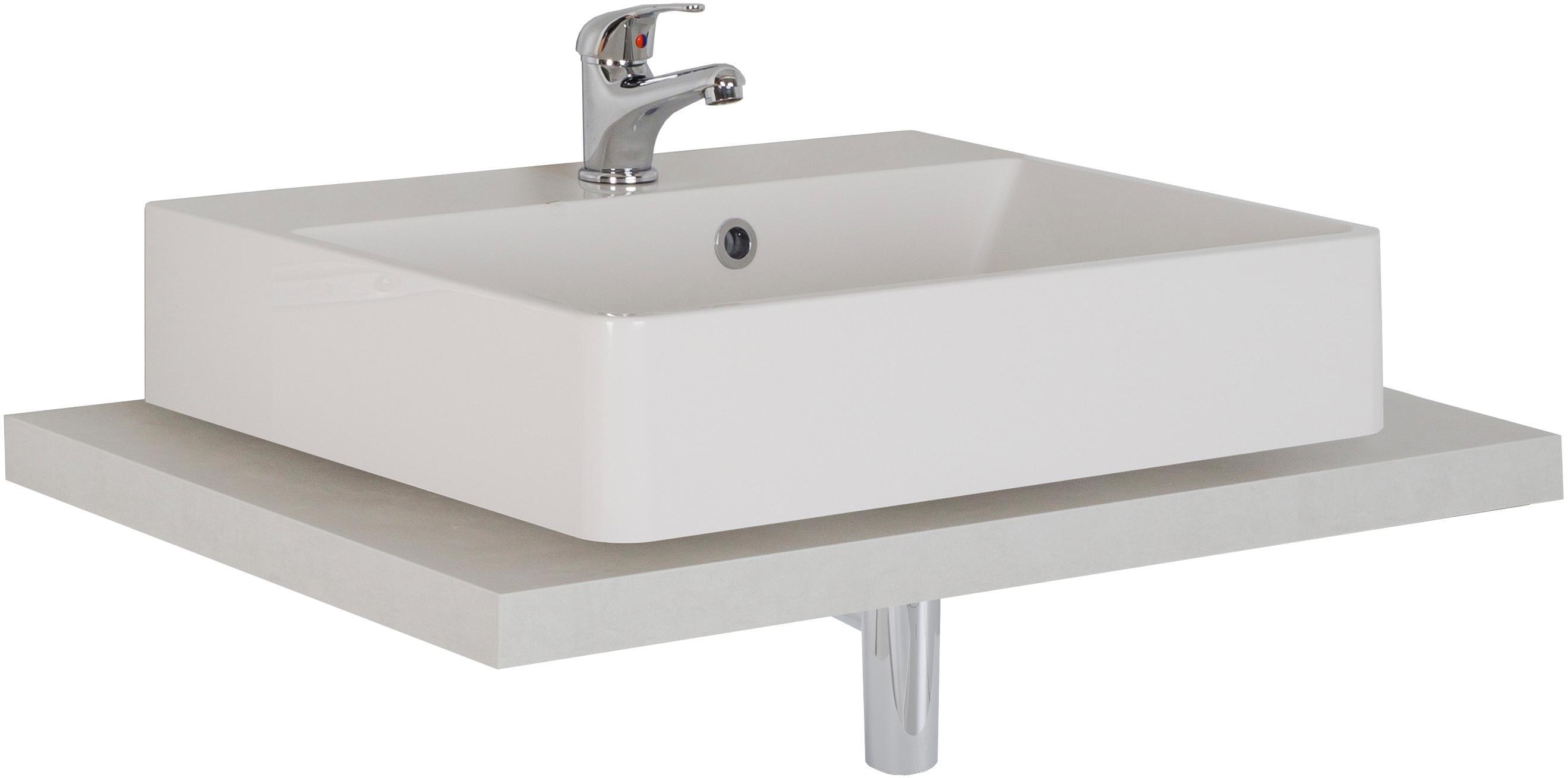 MARLIN Waschtisch, Laos 3110 weiß Waschtische Badmöbel