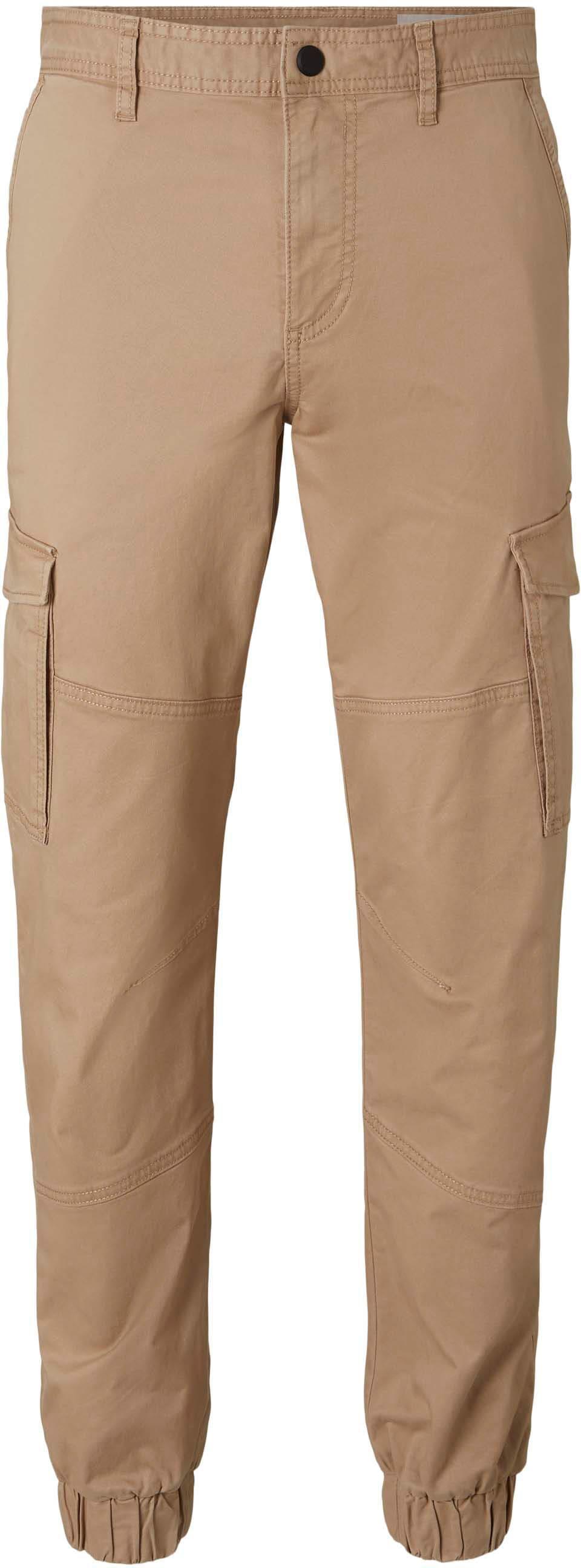 tom tailor denim -  Cargohose, mit Bündchen am Beinabschluss
