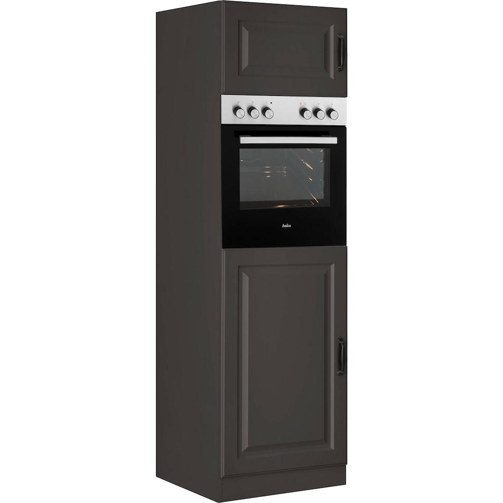 wiho Küchen Backofen/Kühlumbauschrank »Erla«, 60 cm breit mit Kassettenfront