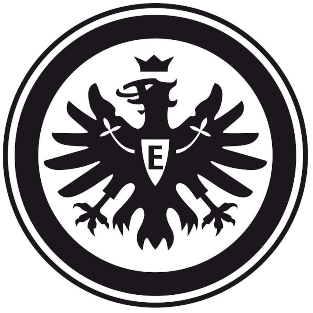 Wall-Art Wandtattoo »Fußball Eintracht Frankfurt Logo«