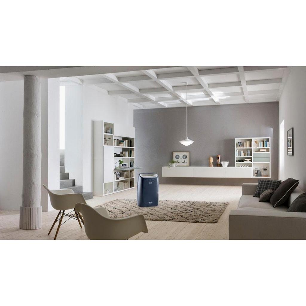 De'Longhi Luftentfeuchter »DEX216F«, für 75 m³ Räume, Entfeuchtung 16 l/Tag, Tank 2,1 l
