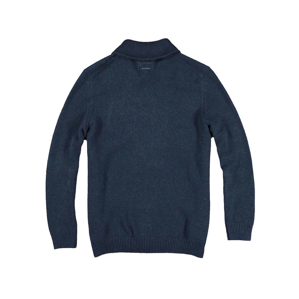 Engbers Pullover mit Schalkragen