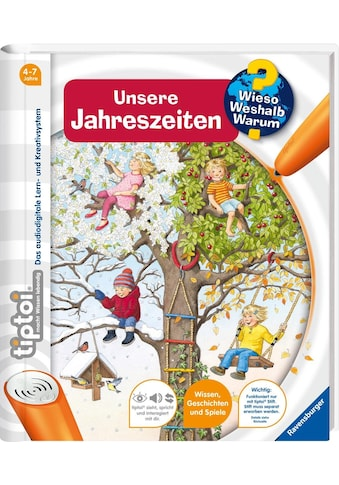 """Ravensburger Buch """"tiptoi®, WWW  -  Unsere Jahreszeiten"""" kaufen"""