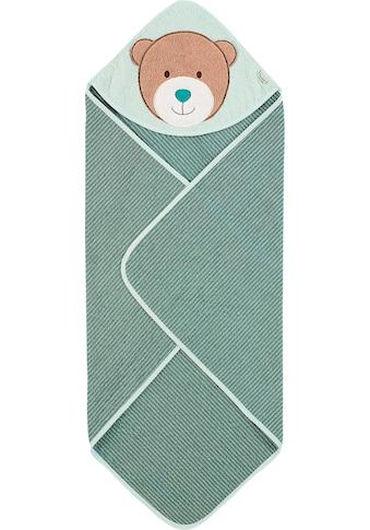 Sterntaler® Kapuzenhandtuch »Ben«, (1 St.), mit großem Bären Motiv kaufen