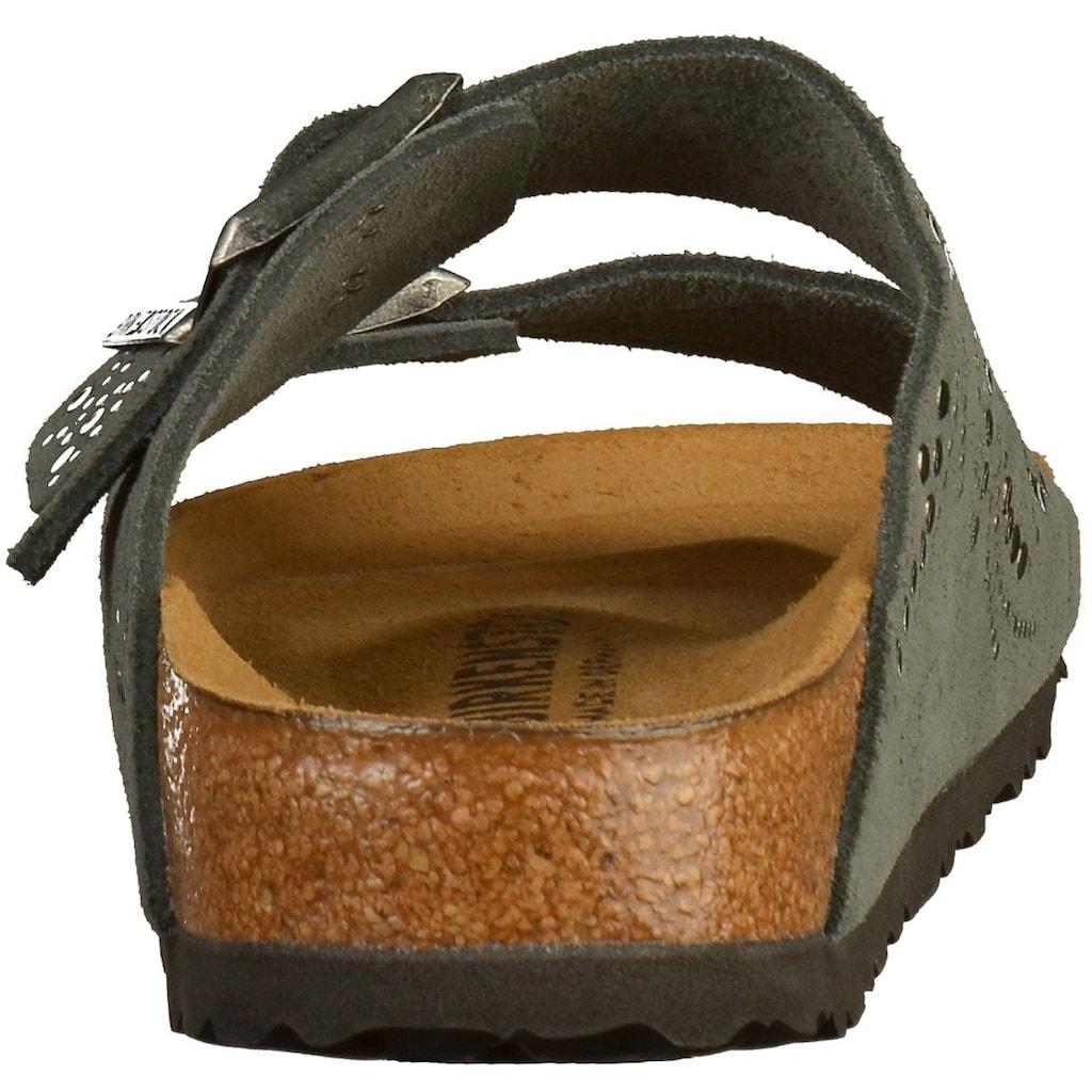 Birkenstock Pantolette »Veloursleder«