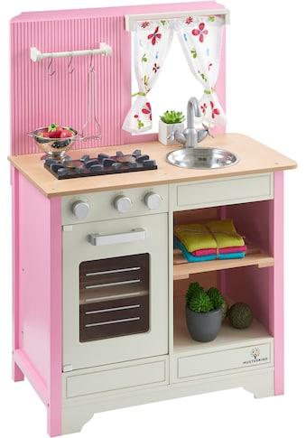 """MUSTERKIND® Spielküche """"Lavandula, creme/rosa"""", Holz kaufen"""