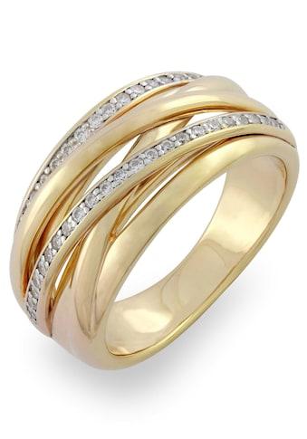 VILMAS Fingerring »Double Stone, 4028146492004, 11, 35«, mit Zirkonia kaufen