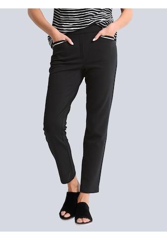 Alba Moda 7/8-Hose, aus hochwertiger Piquée-Qualität kaufen