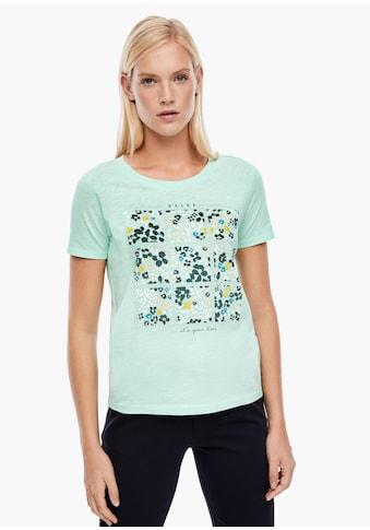 s.Oliver Print - Shirt kaufen