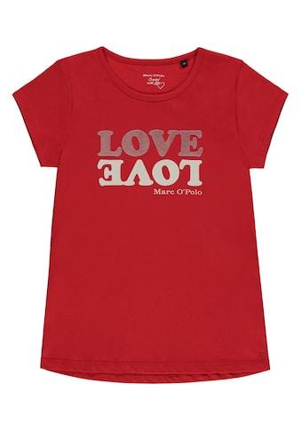 Marc O'Polo Junior T-Shirt Motiv LOVE kaufen