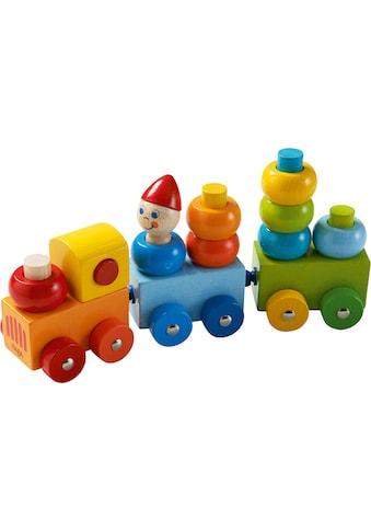 Haba Spielzeug-Eisenbahn »Entdeckerzug Farbkringel«, aus Holz; Made in Germany kaufen