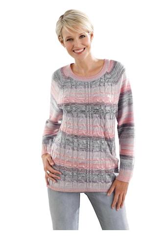 Classic Basics Pullover in dekorativer Melange - Optik kaufen