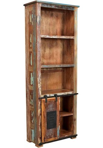 SIT Bücherregal »Jupiter«, aus recyceltem Altholz, Höhe 180 cm, Shabby Chic, Vintage kaufen