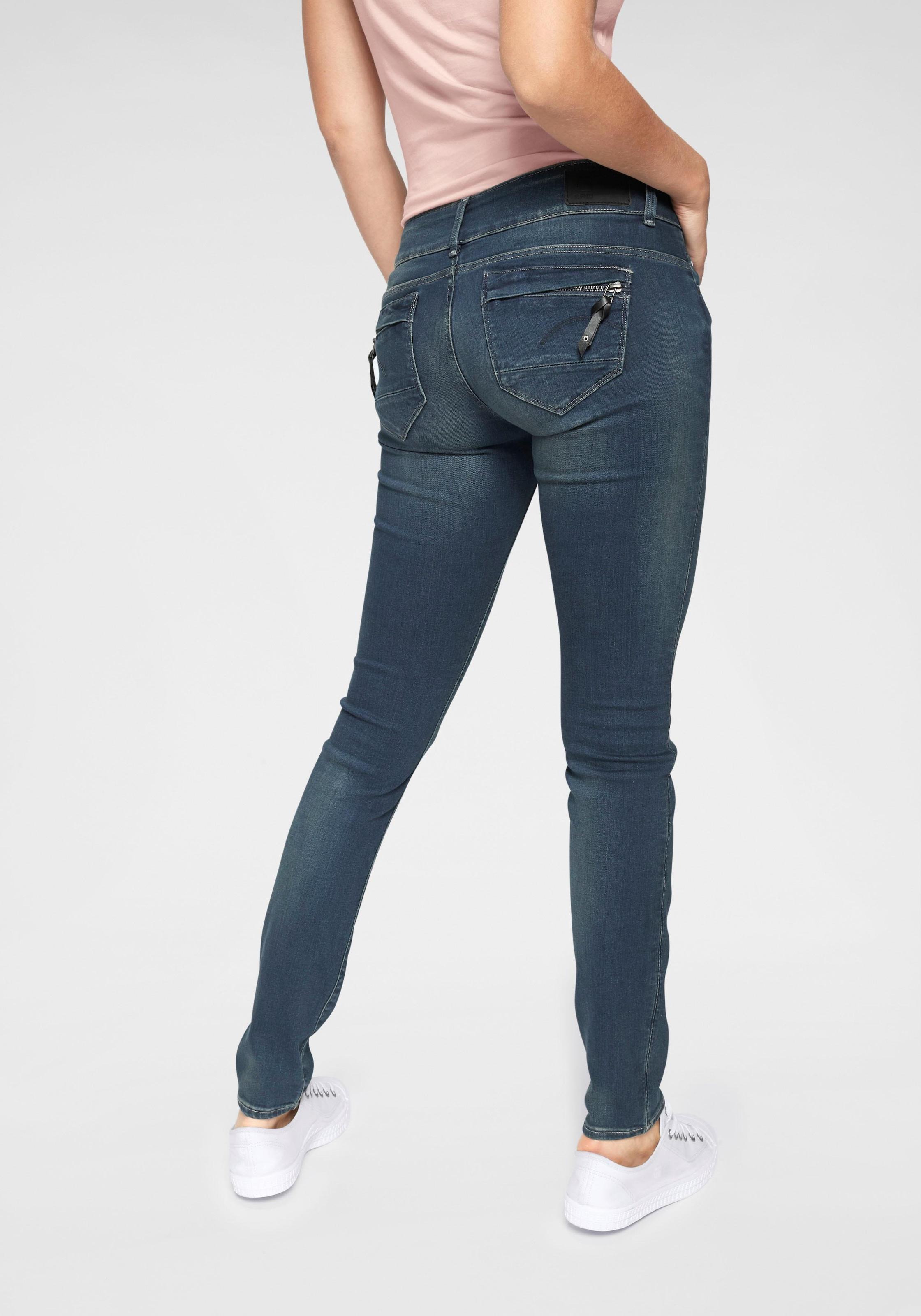 G Star RAW Skinny fit Jeans »Midge Cody Mid Skinny Wmn« Winter 2020
