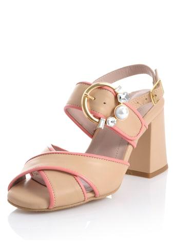 Alba Moda Sandalette in harmonischer Zweifarbigkeit kaufen