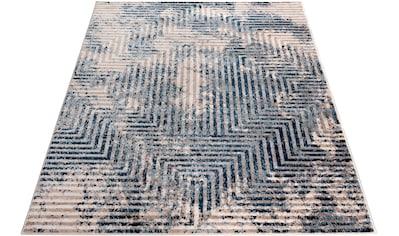 Sehrazat Orientteppich »Montana 3760«, rechteckig, 8 mm Höhe, Wohnzimmer, Kurzflorteppich kaufen