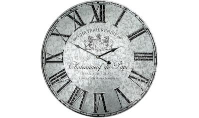 Ambiente Haus Wanduhr »Wanduhr - Metall 58cm« kaufen