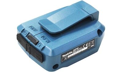 MAKITA Adapter »DEBADP05 / DEAADP05«, geeignet zum Laden von Smartphones, Kameras uvm.,14,4  -  18 V kaufen