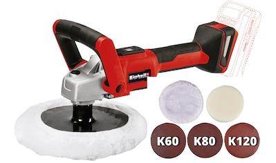 EINHELL Akku - Poliermaschine »CE - CP 18/180 Li E - Solo«, Power X - Change, ohne Akku und Ladegerät kaufen