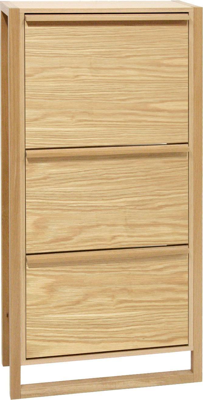 Woodman Schuhkommode »NewEst«, Breite 67 cm, mit 3 Klappen