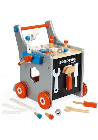 """Janod Werkbank """"Brico'Kids Werkbankwagen groß"""" kaufen"""