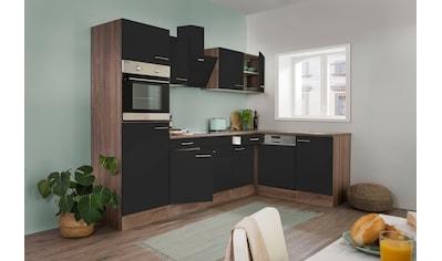 RESPEKTA Winkelküche »York«, mit E-Geräten, Breite 280 x 172 cm kaufen