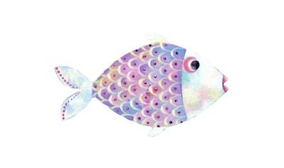 Wall-Art Wandtattoo »Märchenhaft Der kleine Fisch« kaufen