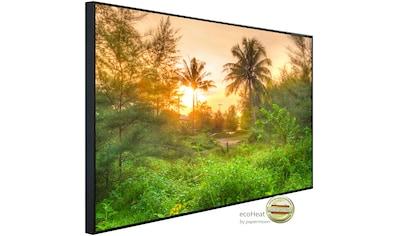 Papermoon Infrarotheizung »Erstaunlicher Dschungel Sonnenaufgang«, sehr angenehme... kaufen