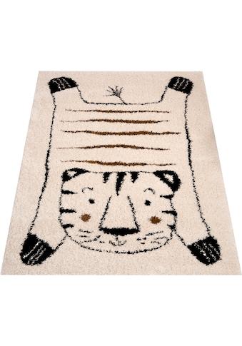 Zala Living Kinderteppich »Tiger Baxley«, rechteckig, 35 mm Höhe, Spielteppich, besonders weich durch Microfaser kaufen