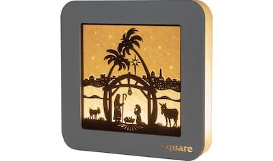 Weigla LED-Bild »Square - Standbild Christi Geburt«, (1 St.), mit Timer kaufen
