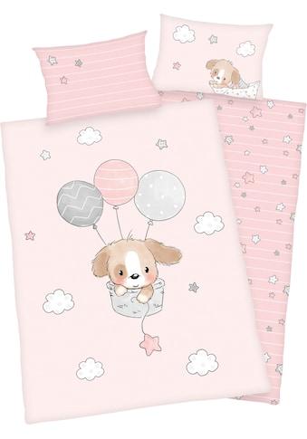 Baby Best Babybettwäsche »Sleeping little bear«, mit niedlichem Motiv und liebevollem... kaufen
