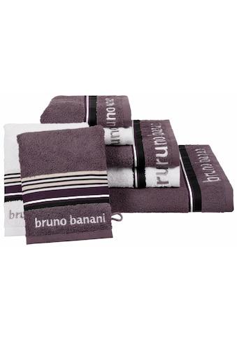 Handtuch Set, »Maja«, Bruno Banani (Set) kaufen
