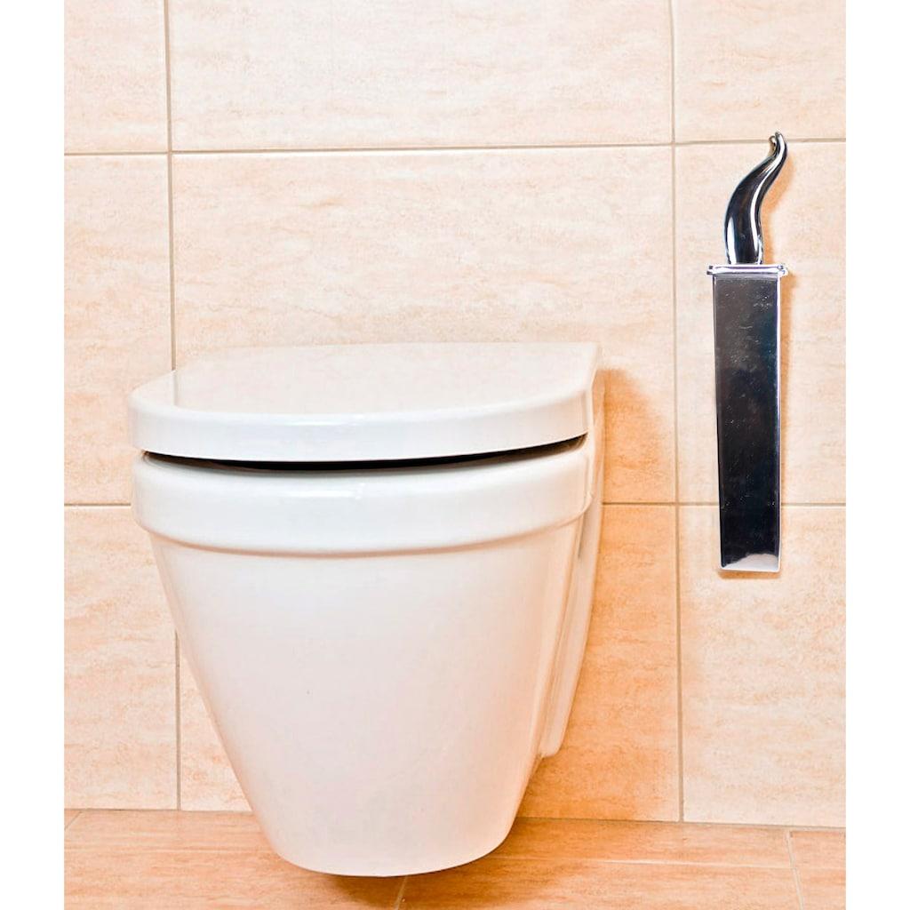 ADOB WC-Garnitur »Bürstenlose WC-Bürste«, Silikon-Schaber