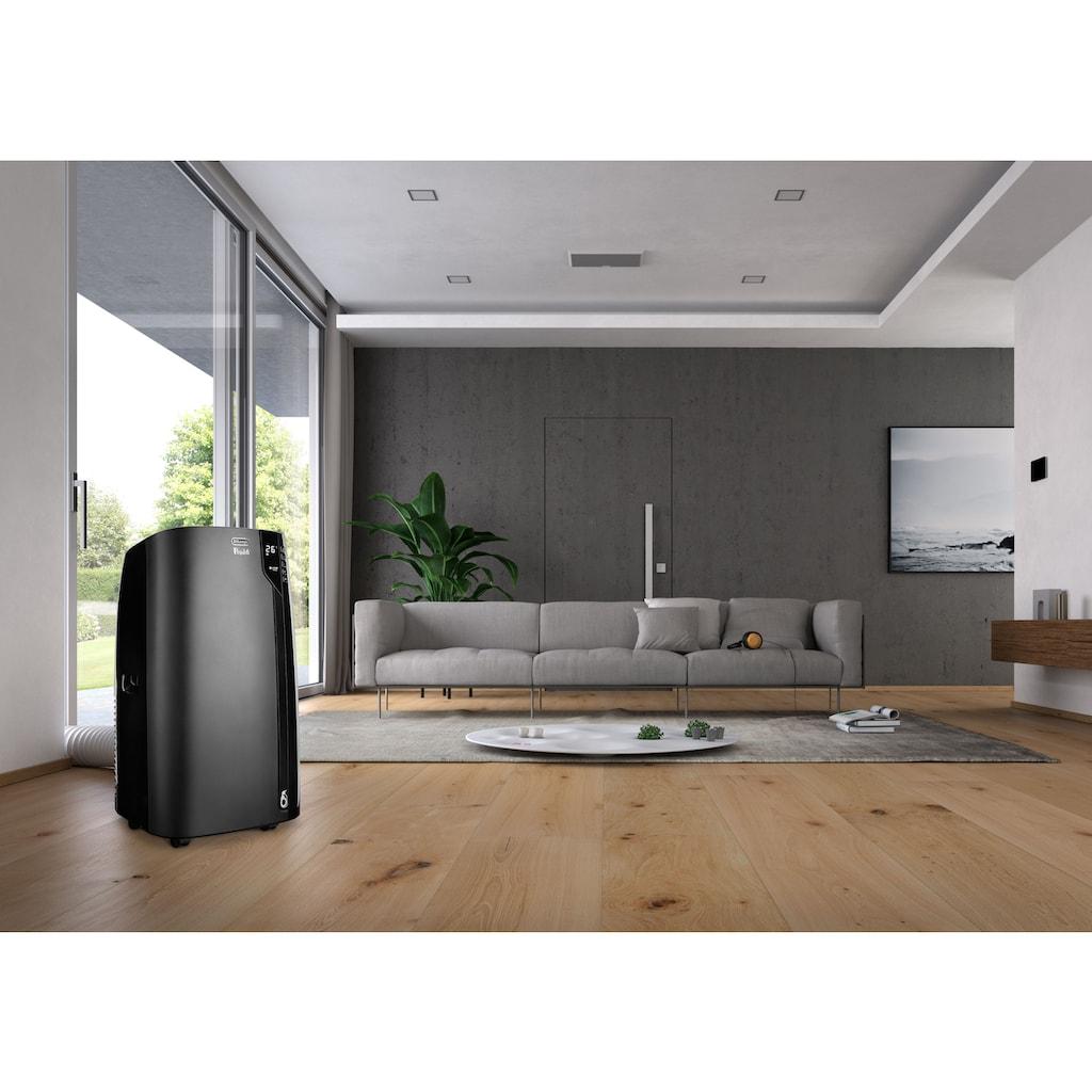 De'Longhi Klimagerät »Pinguino PAC EX130 ECO REALFEEL«, Mobiles Klimagerät mit Entfeuchtungs-Funktion