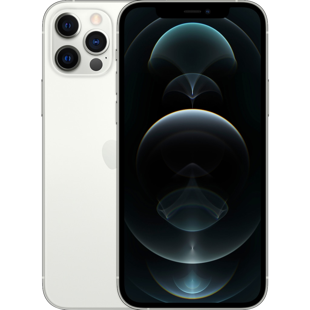 """Apple Smartphone »iPhone 12 Pro«, (15,5 cm/6,1 """" 128 GB Speicherplatz, 12 MP Kamera), ohne Strom Adapter und Kopfhörer, kompatibel mit AirPods, AirPods Pro, Earpods Kopfhörer"""