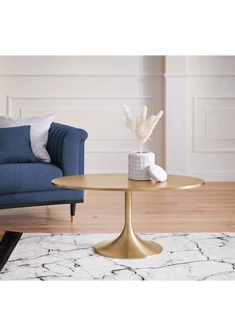 Guido Maria Kretschmer Home&Living Couchtisch »Goldless«, 1,8 cm starke Tischplatte... kaufen