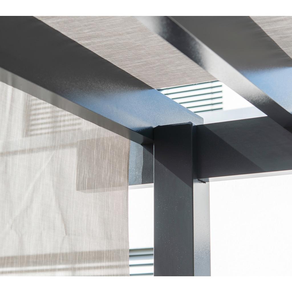 Sojag Pavillon »Yamba 10x16 anthrazit«, BxTxH: 495x295x253 cm