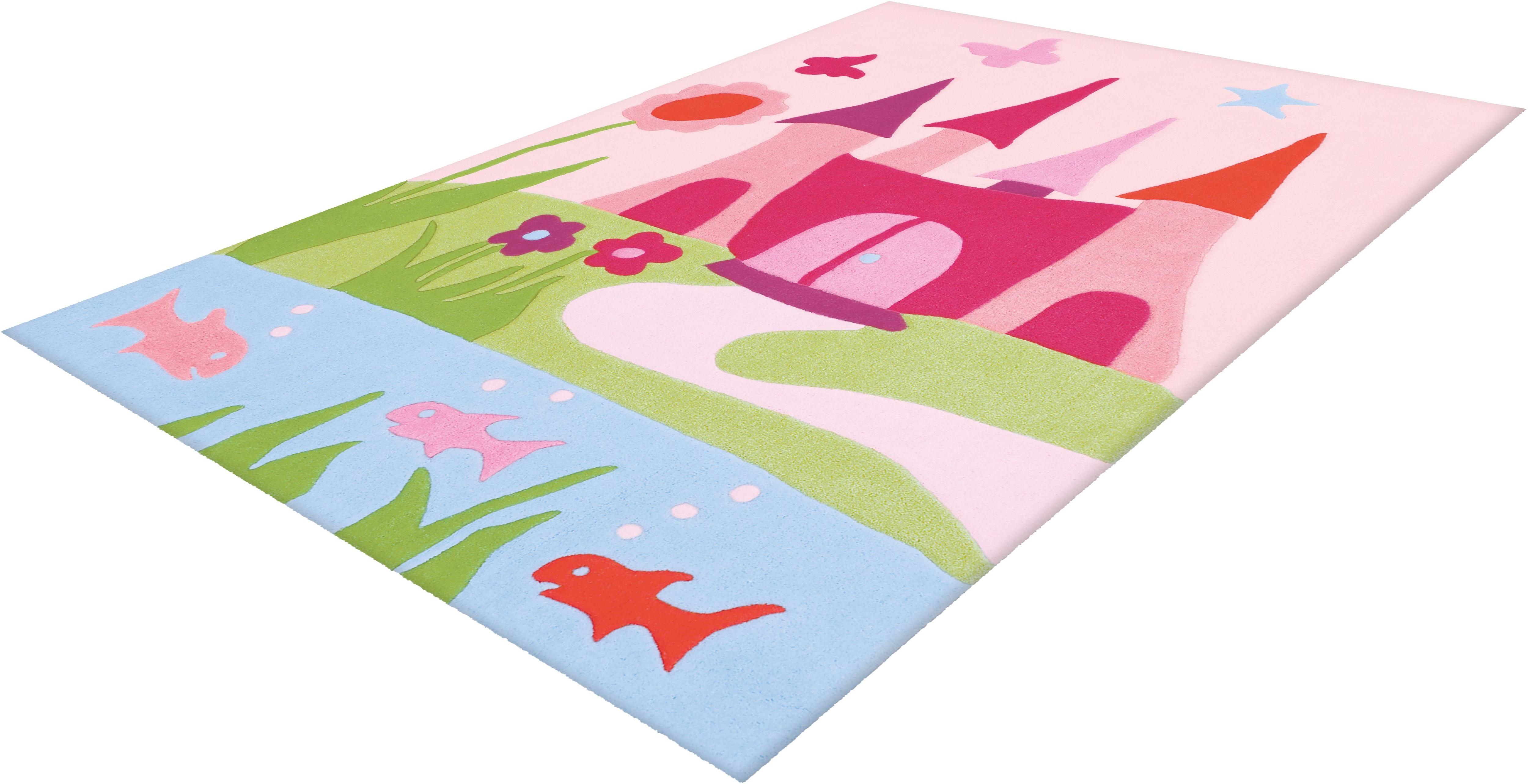 Kinderteppich Joy 4052 Arte Espina rechteckig Höhe 16 mm handgetuftet