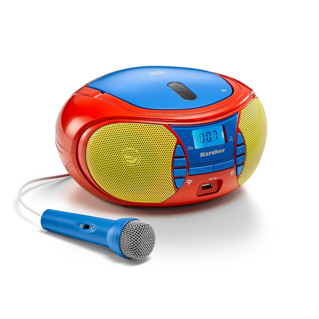 Karcher CD-Player »RR 5026«, (CD 2 W)