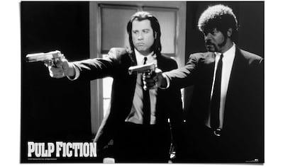 Reinders! Poster »Pulp Fiction Schwarz/weiss«, (1 St.) kaufen