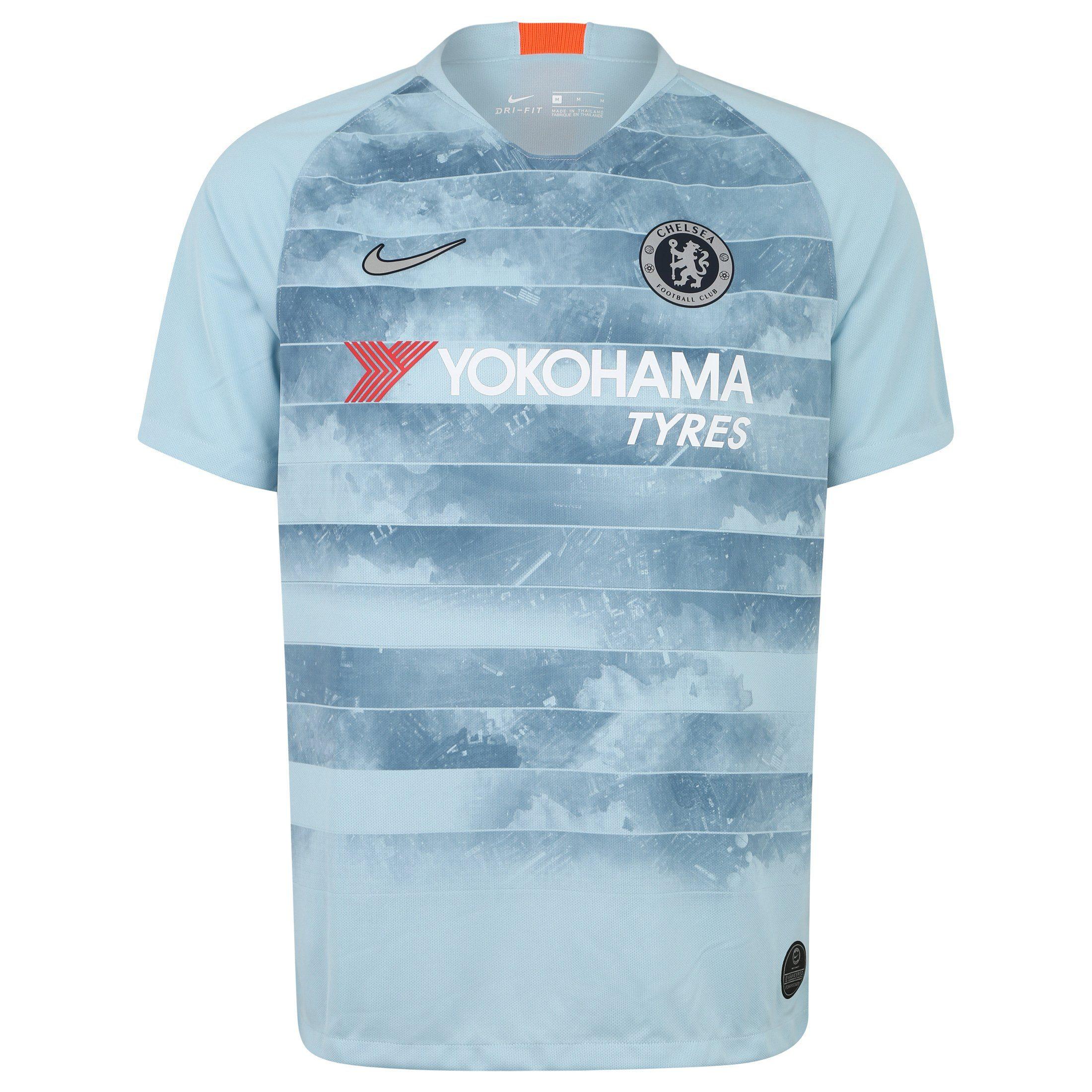 Nike Fußballtrikot Fc Chelsea 18/19 3rd | Sportbekleidung > Trikots | Blau | Nike