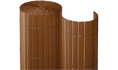 Balkonsichtschutz BxH: 300x90 cm, braun kaufen