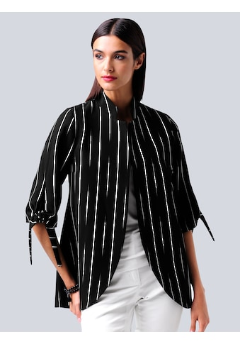 Alba Moda Longblazer, im abstrakten Streifendessin kaufen