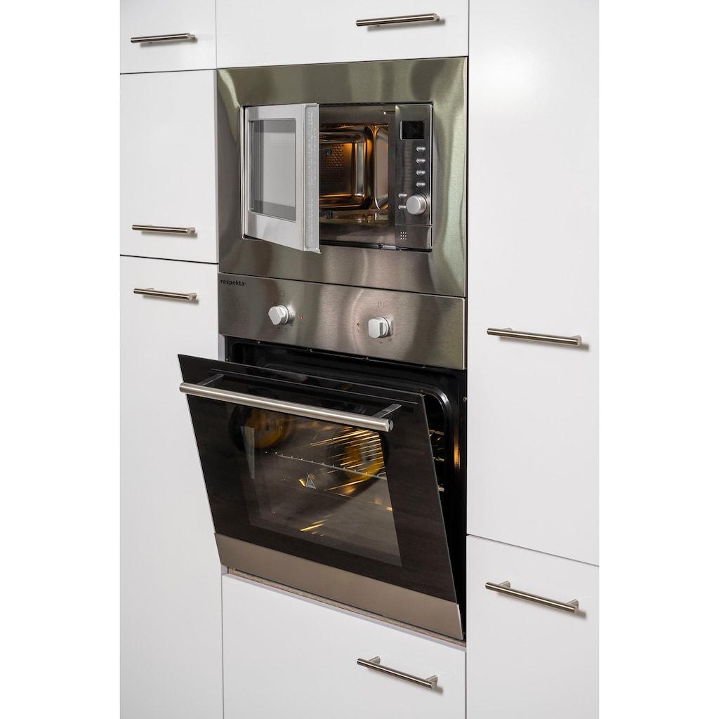 RESPEKTA Winkelküche »York«, mit E-Geräten, Breite 340 x 172 cm